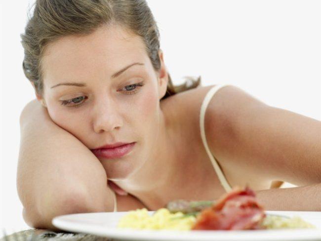 Снижение аппетита у беременной женщины по причине болезни