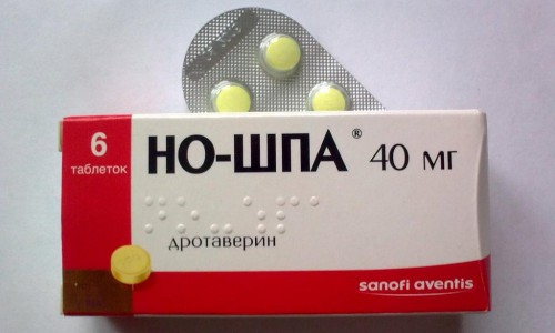 Упаковка таблеток Ношпа