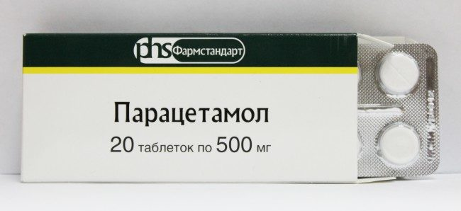 Препарат парацетамол в таблетках
