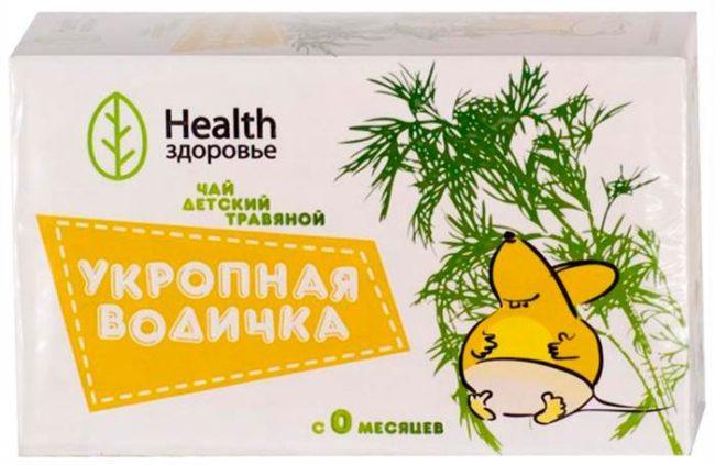Укропная водичка чай детский травяной