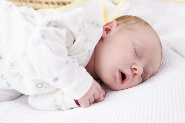 Храпящий новорождённый