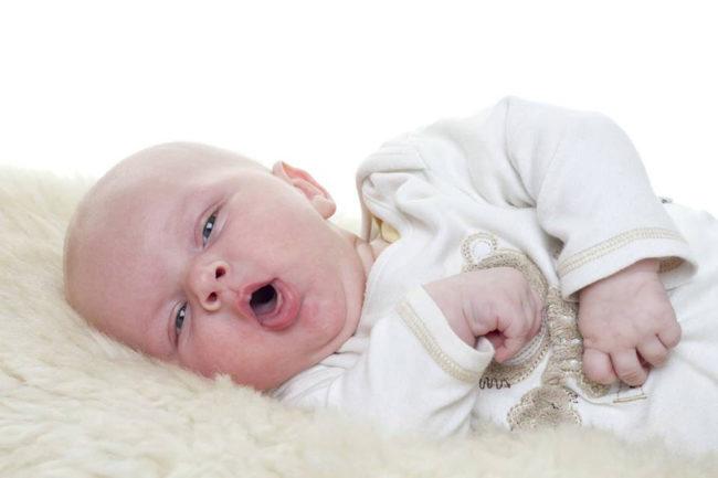 Кашель у новорождённого
