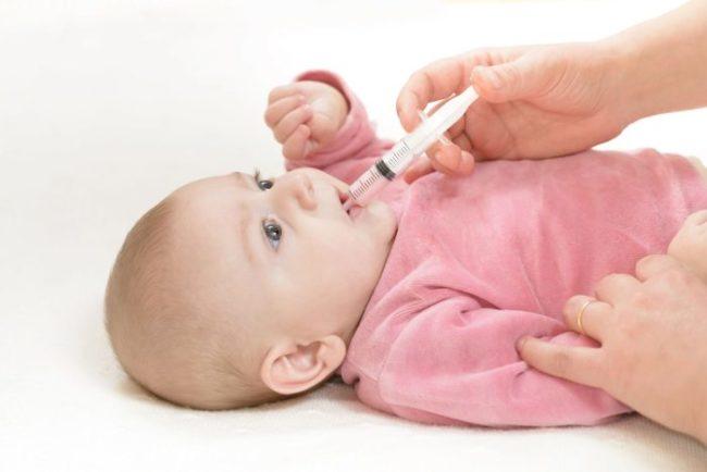 Жаропонижающий препарат для новорождённого