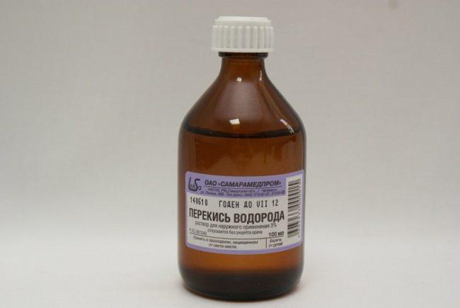 Перекись водорода раствор для наружного применения