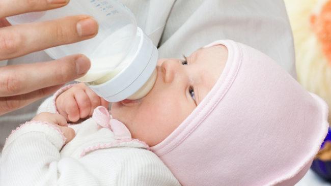 Смесь для питания новорождённого
