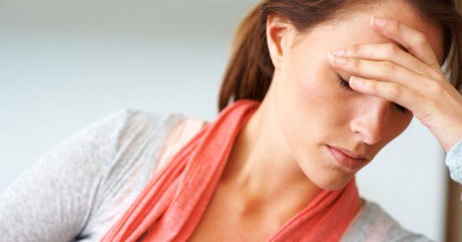 Депрессия у молодой женщины