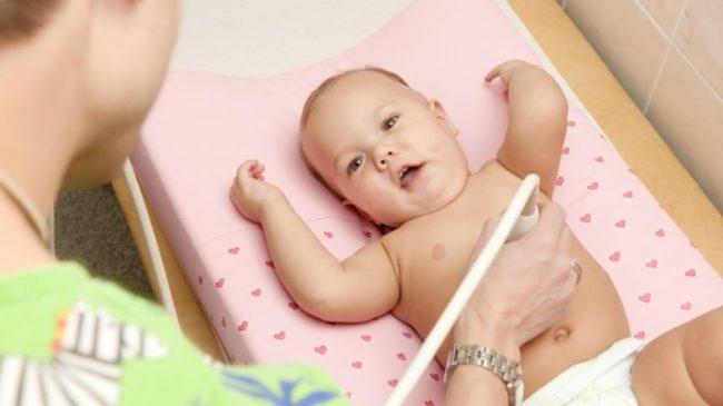 Ультразвуковое исследование желудка малыша