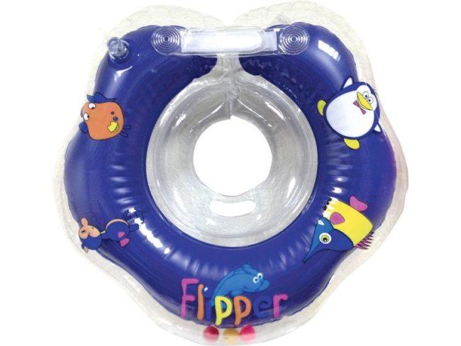 Модель круга флиппер для купания младенца