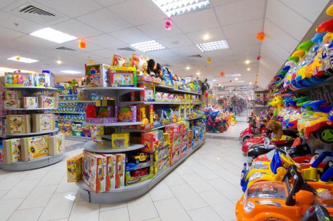Большой детский магазин с игрушками