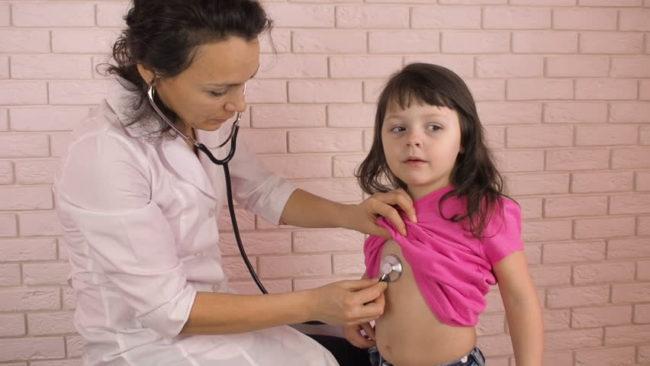 Ребенок дышит ртом и хрипит